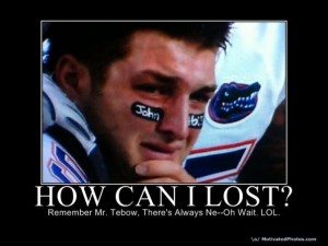 Tim Tebow Crying