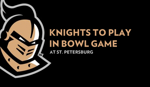 Knights To Play in St. Pete Bowl Game