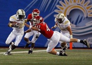 UCF's Quincy McDuffie (Photo by Scott McCall)/OrlandoSportsCentral.com