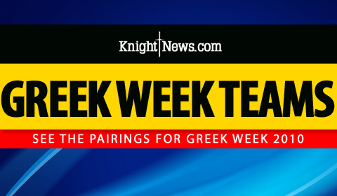 UCF Greek Week Pairings for 2010 Announced