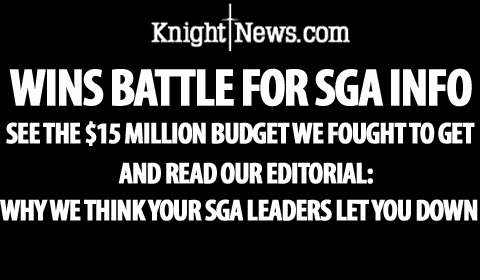 SGA Leaders, President Peterson: 'You Let Us Down'