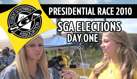 SGA Elections: Day One