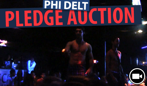Phi Delt Pledge Auction at Scoop (Video)