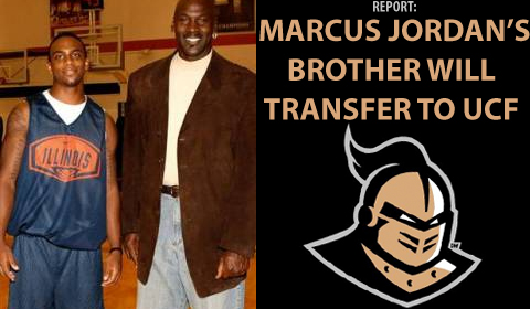Marcus Jordan's Brother, Jeffrey, Will Play Basketball at UCF