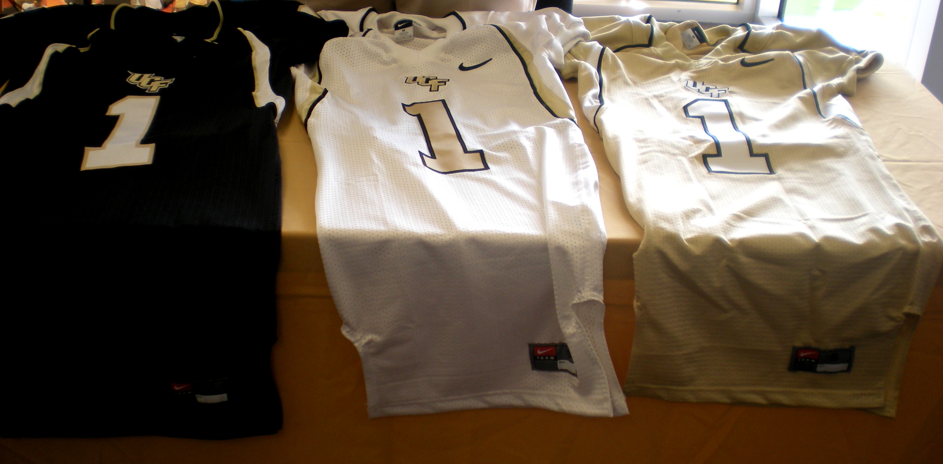 online retailer 96c8e ebc00 Photos of UCF's New Nike Jerseys | KnightNews.com