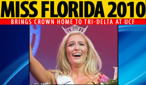 Jaclyn Raulerson, UCF Sorority Member, Wins Miss Florida