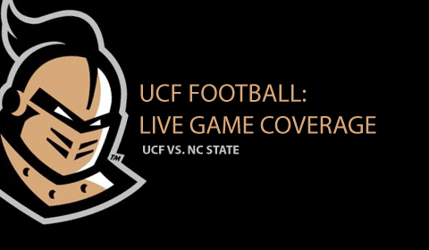 UCF Vs. NC State: Live Football Coverage From Orlando
