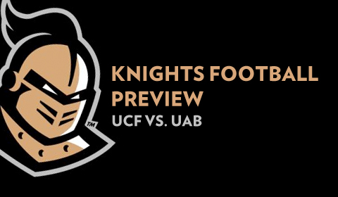 UCF Looking to Get Back on Track in Conference Opener