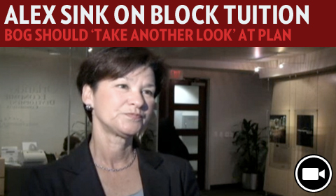 Alex Sink: BOG Should Take Another Look At Block Tuition Plan