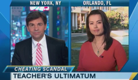 Good Morning America Covers UCF Cheating Scandal on National News
