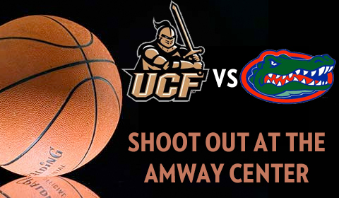 UCF Set to Take on Florida Gators at Amway Center
