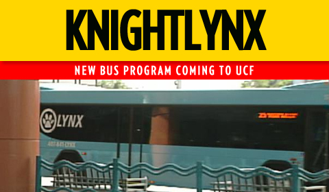 KnightLynx Bus Service Will Bring Students to The Plaza, UCF Apartments
