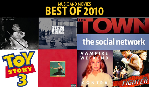 2010: The Year in Music and Movies