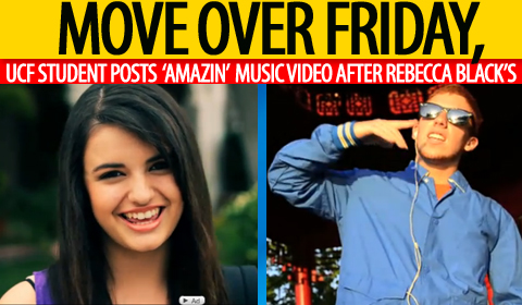 Move Over Rebecca Black, UCF Student Posts 'Amazin' New Music Video on YouTube