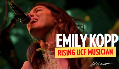 Rising UCF Musician: Singer/Songwriter Emily Kopp