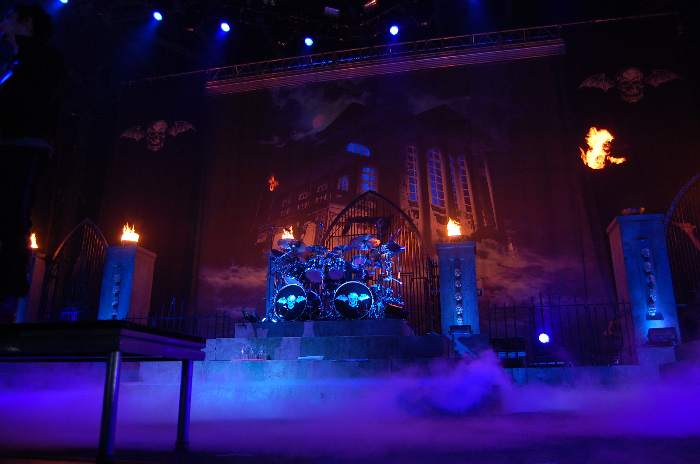 The Stage For Avenged Sevenfold