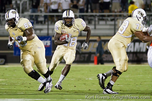 UCF Football's Murray, McDuffie, Hall Named to CFPA Special Teams Watch List