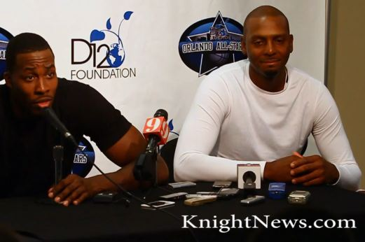 Video: Penny Hardaway and Dwight Howard Press Conference