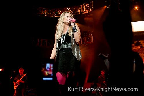 Miranda Lambert Lights Up UCF Arena