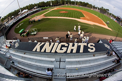 Photos: A Fisheye View Of The UCF Baseball Stadium Renevations