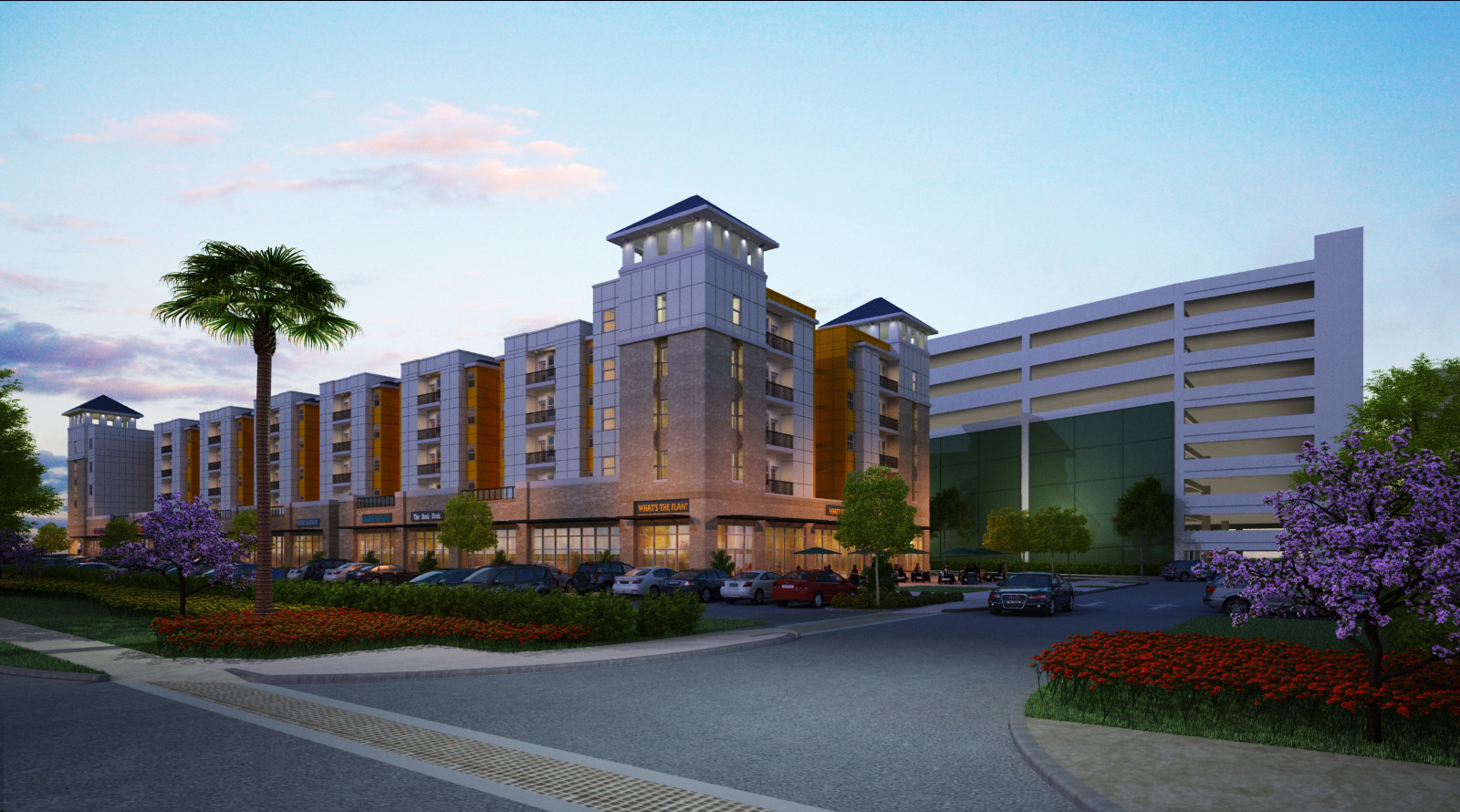Ucf S New Plaza See Pictures Of Planned Apartments Retail
