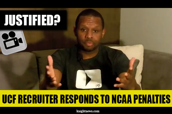 UCF Recruiter Responds to NCAA Violations with Video