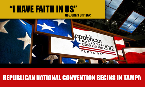 Republican National Convention Kicks Off in Tampa; LIVE VIDEO