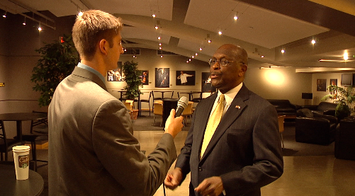 Herman Cain Gives Advice to UCF Students at Truth Tour