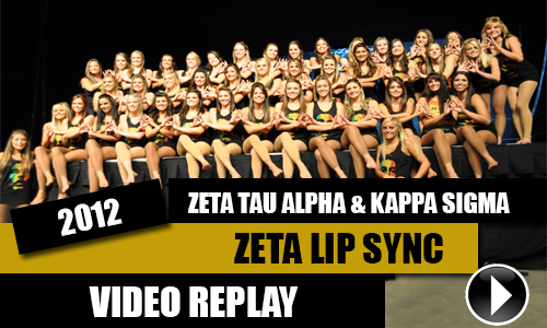 Zeta Lip Sync 2012 Video Replays (High Quality)