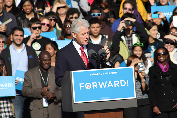 Obama&#8217;s UCF Visit Cancelled; Crowd Still Rallies Around Bill Clinton