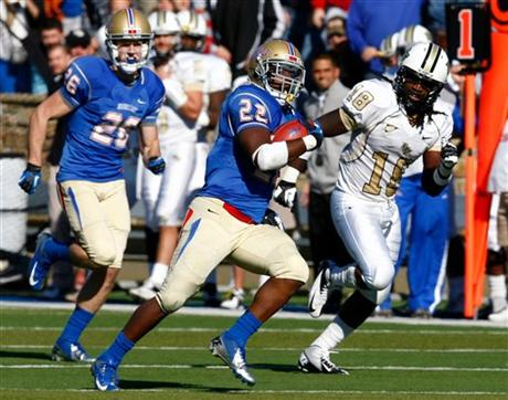 UCF Falls Short to Tulsa in OT; Will Head to Beef 'O' Brady's Bowl