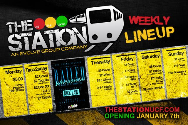 The Station Finally Opens As a 21+ Bar and Grill Near UCF
