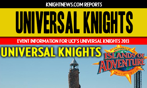 UCF's Universal Knights 2013 | Important Event Information