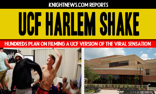 Hundreds of UCF Students Plan to Recreate &#8220;Harlem Shake&#8221; Video Sensation