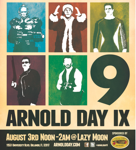 "Annual ""Arnold Day"" Celebration Returning to Lazy Moon"
