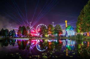 Electric Daisy Carnival  was held at Tinker Field in Orlando