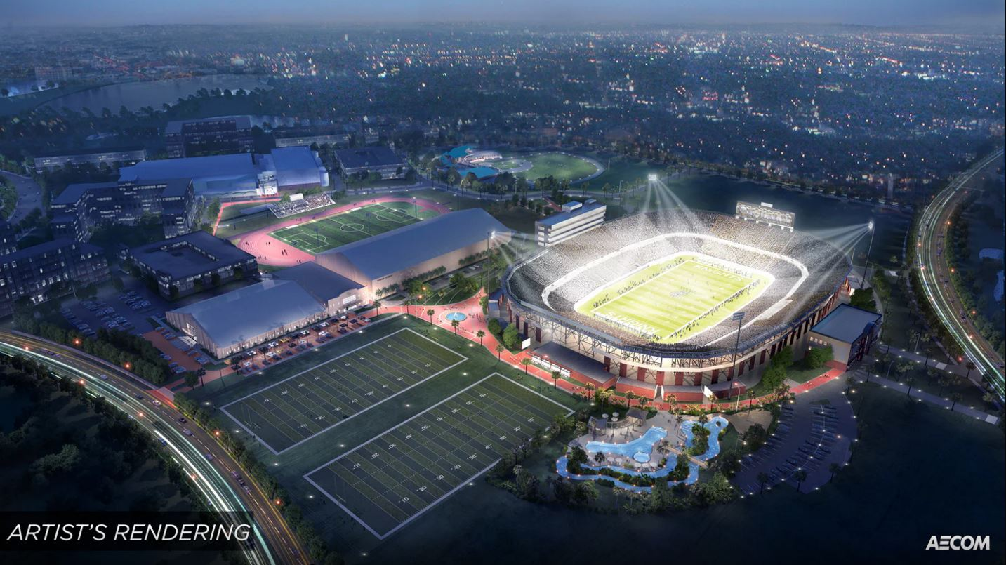 Ucf s bright house networks stadium becomes spectrum for Right house