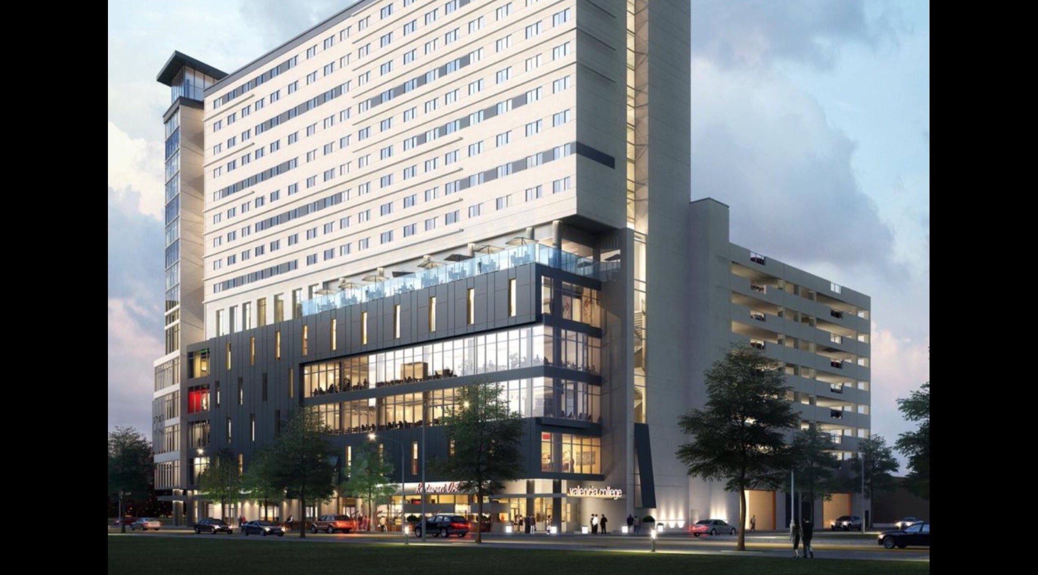 Ucf Valencia Downtown Student Housing Project Approved By City Of Orlando Knightnews Com