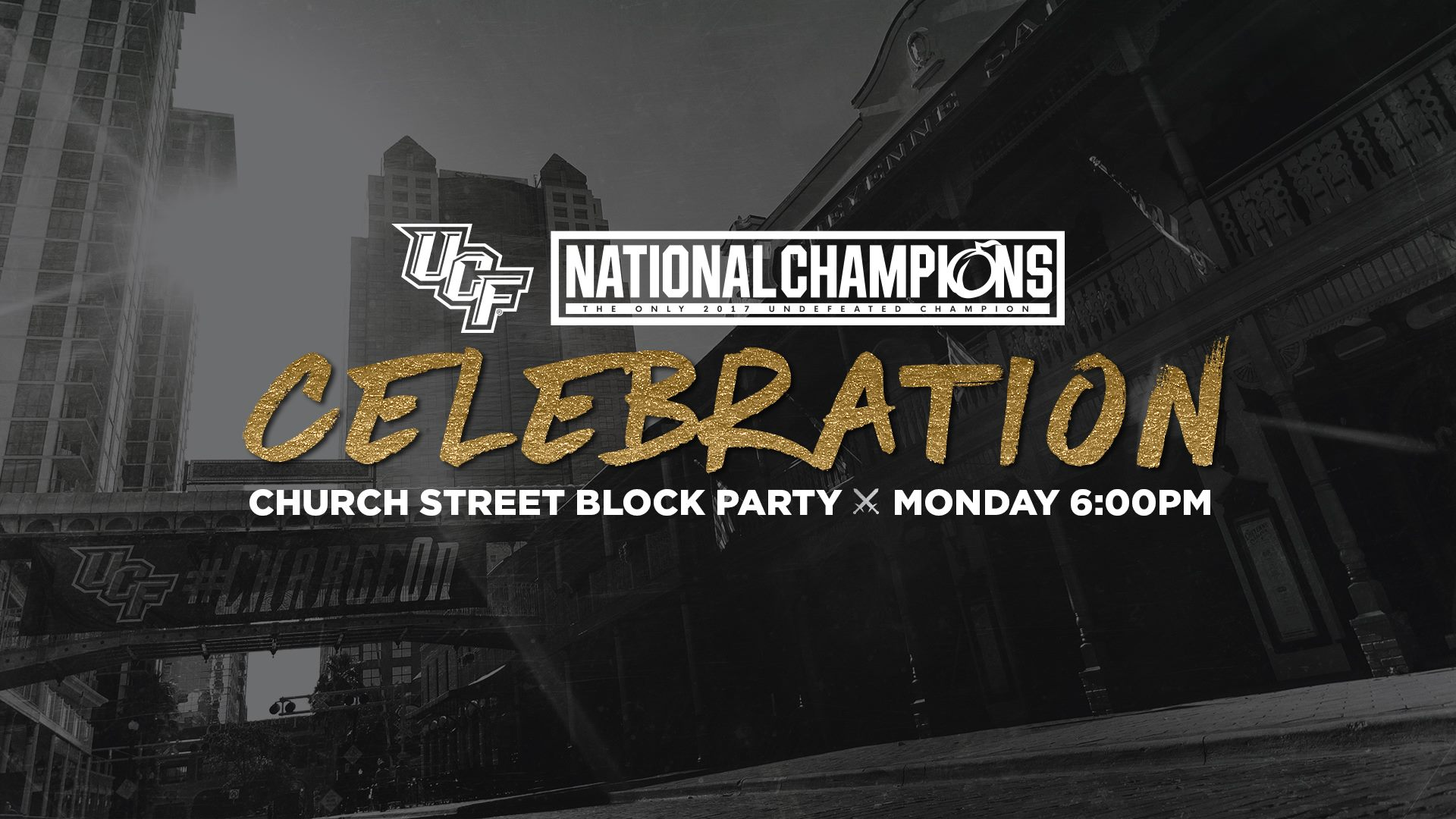 UCF to celebrate flawless season with national title banner, parade