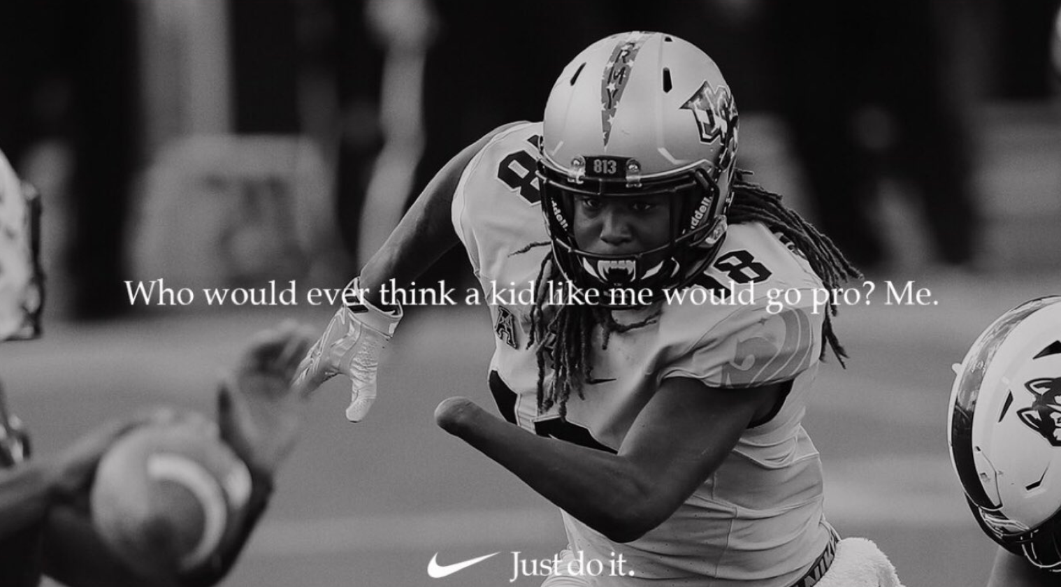 outlet store 6309c b17f4 UCF Alumnus Shaquem Griffin Featured in Nike NFL Ad ...